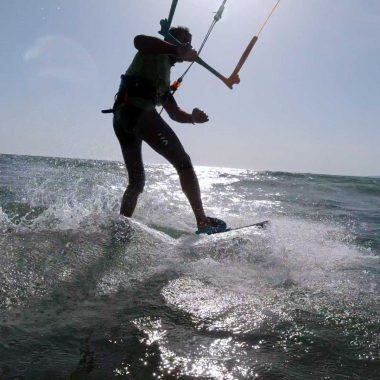 Strambata Twin Tip Toe-Hill Side  • D-Roma Kiteboarding Academy