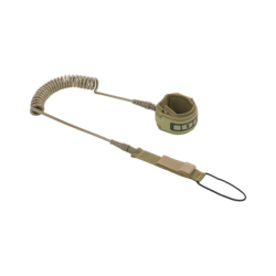 48200-7053_ION_-_SUP_Core_Leash_coiled_olive_front