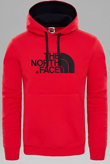 The North Face - Felpa con cappuccio Uomo Drew Peak - Red • Duotone ... e737e1820e14
